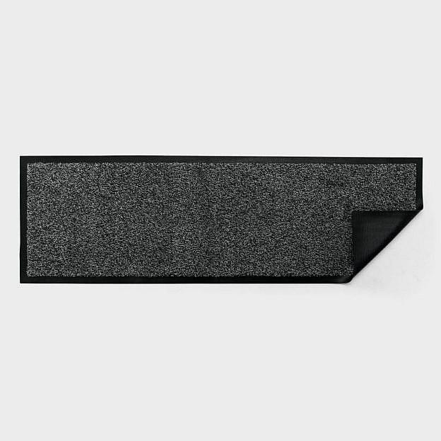 Schuh-bzw. Garderobenmatte waschbar, Gummi, granit