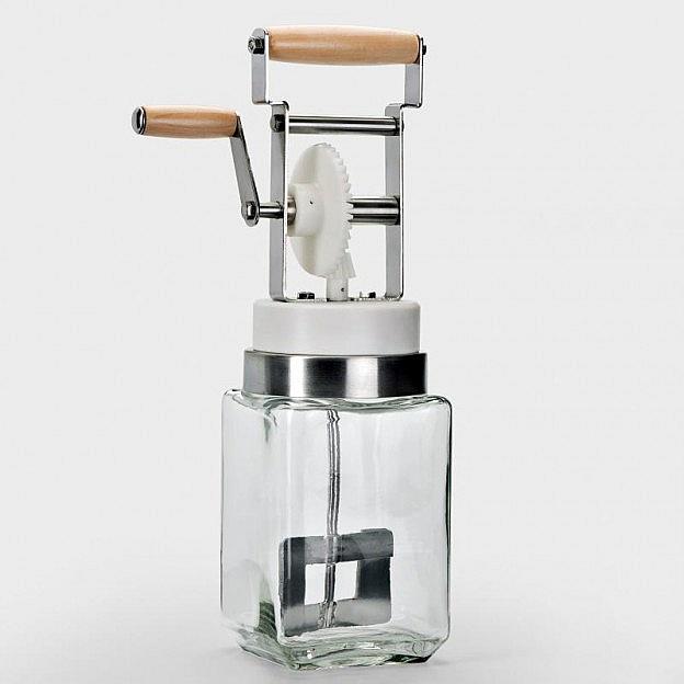 Butterrührmaschine Glas