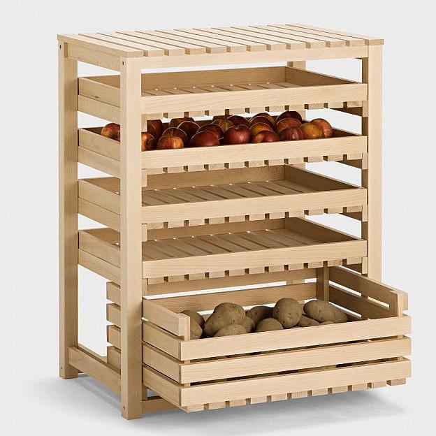Obst- und Gemüsehorde Buche