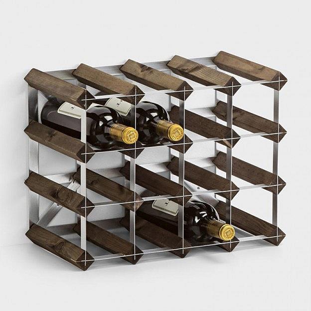 Weinregal für 16 Flaschen