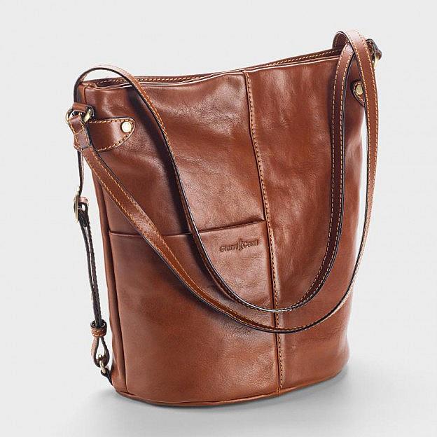 Shopper/Rucksack Rindsleder