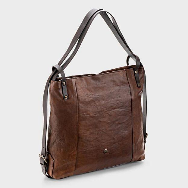 Shopper-Rucksack Mariza, Rindsleder Vintage