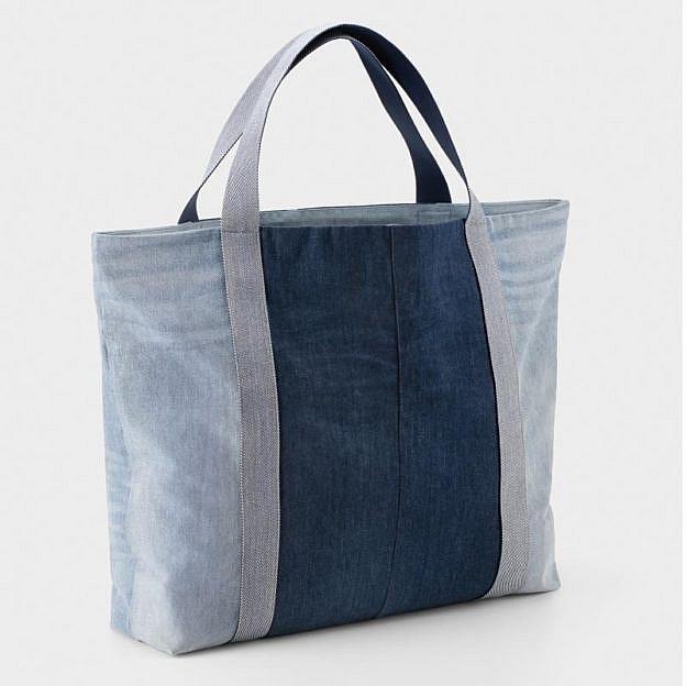 Strandtasche Recyclingjeans