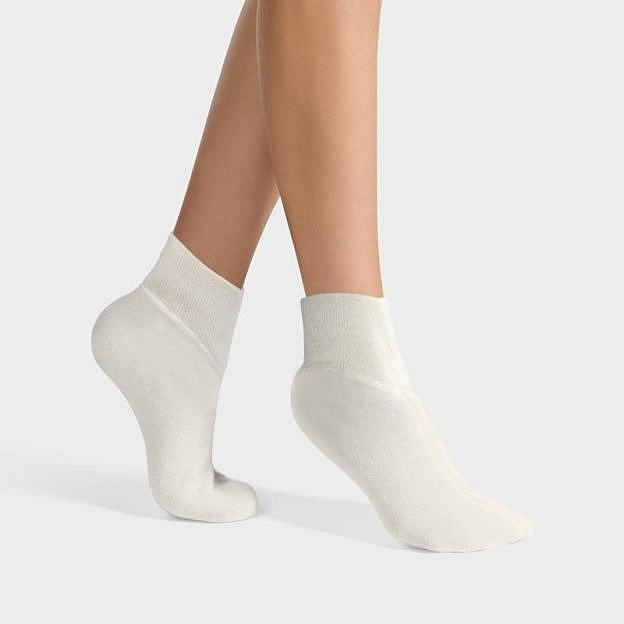 Angora-Bettsocken