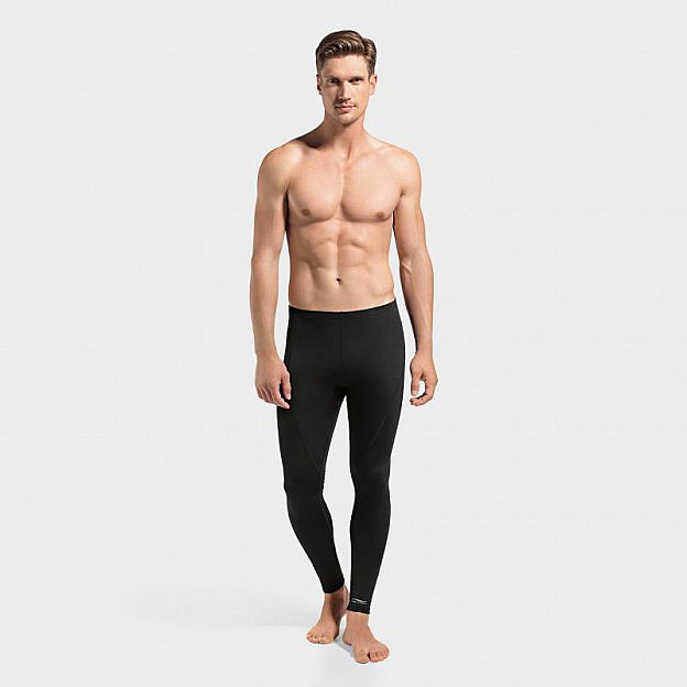 Herren-Funktions-Leggings lang