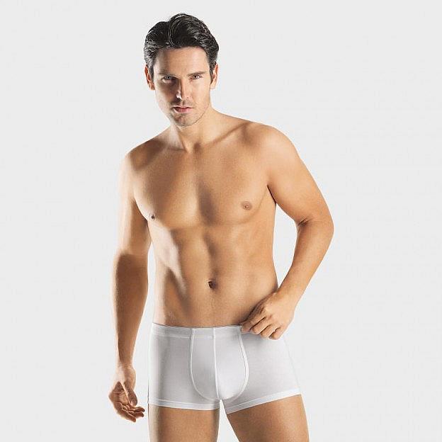 Hanro-Herren-Pants Stretch, weiss
