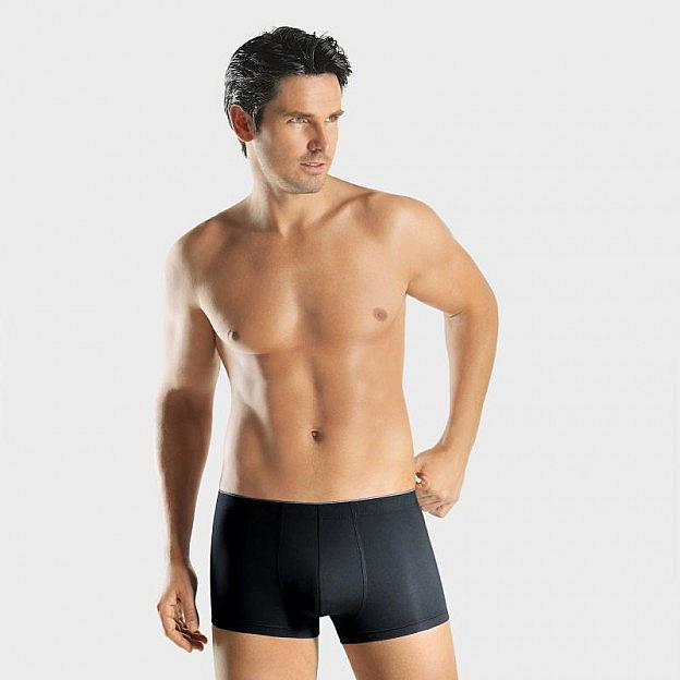 Hanro-Herren-Pants Stretch, schwarz