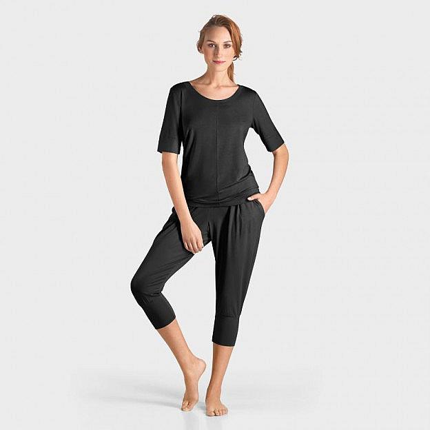 Yoga-T-Shirt ½-Arm Micromodal