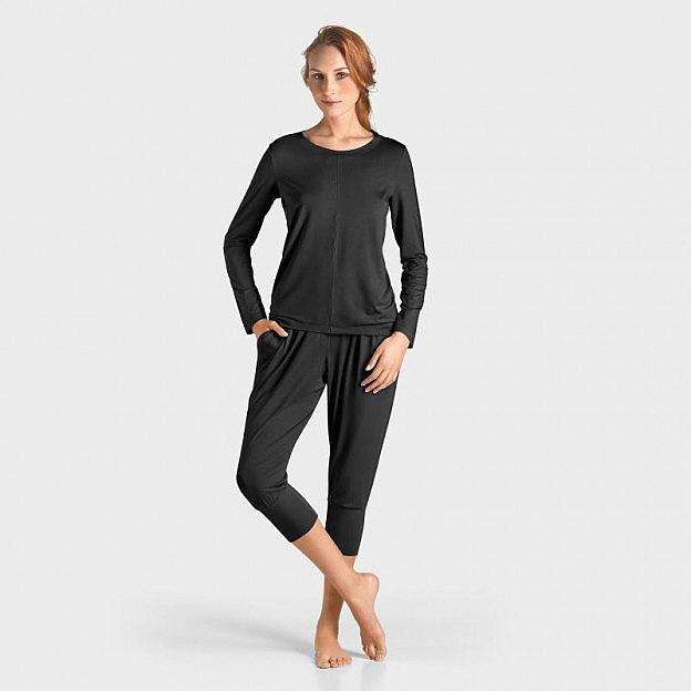 Yoga-Shirt langarm Micromodal