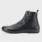 Damen-Wintersneaker hoch, schwarz