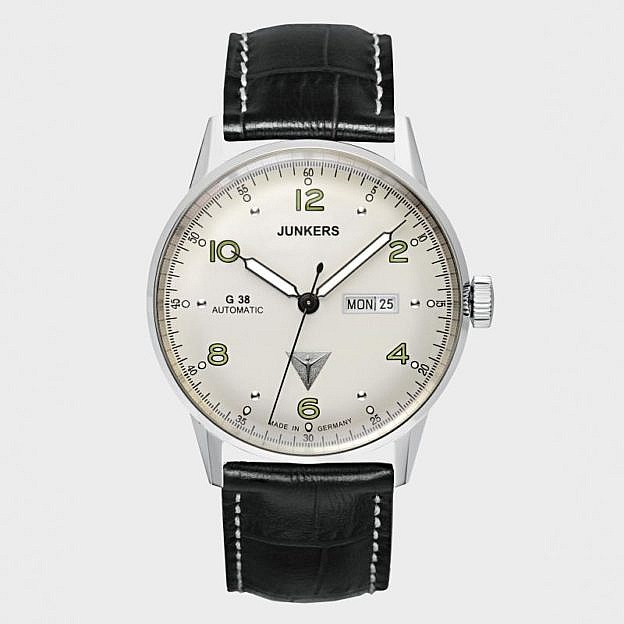 Armbanduhr Junkers G38 Day Date, Automatik