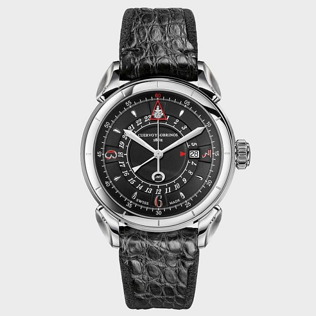 Armbanduhr Vuelo GMT, Automatik