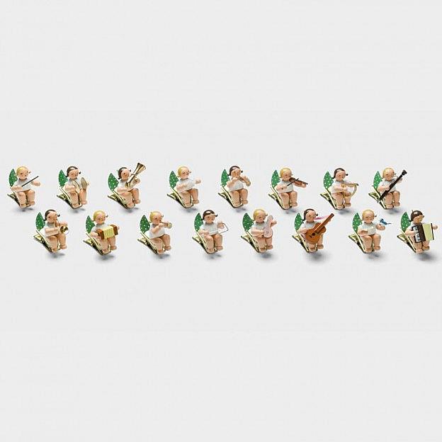 16 Grünhainicher Engel auf Klemme