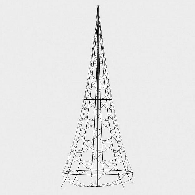 LED-Lichterkettenbaum 600 cm