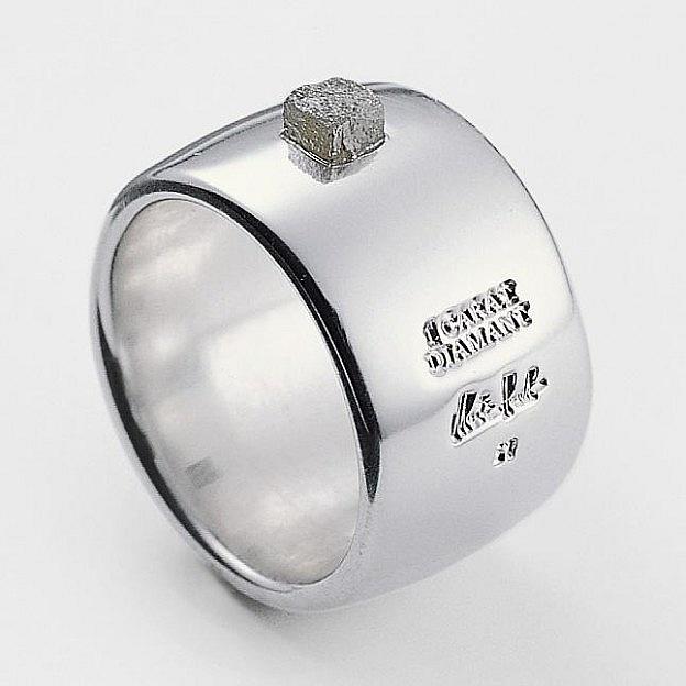Ring Sterlingsilber 925 mit Diamant 1 Karat