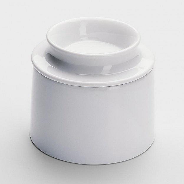 Wasserbutterdose Porzellan - Nie mehr harte Butter. Ein altes Prinzip der Butterkühlung