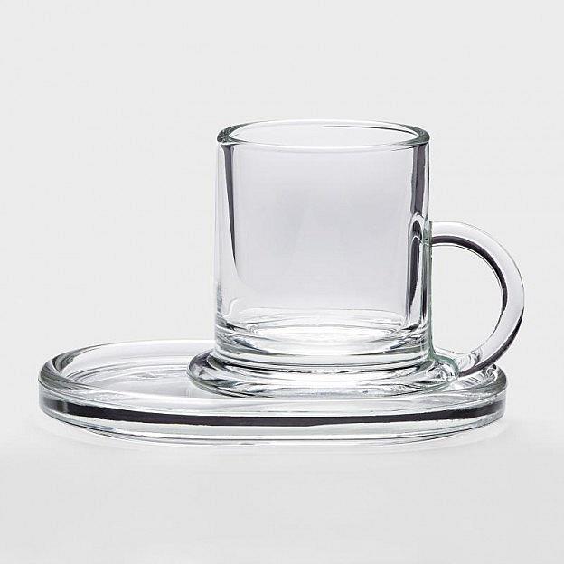 Espressoglas, 6er-Set