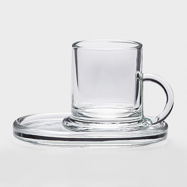 Untersetzer Espressoglas, 6er-Set
