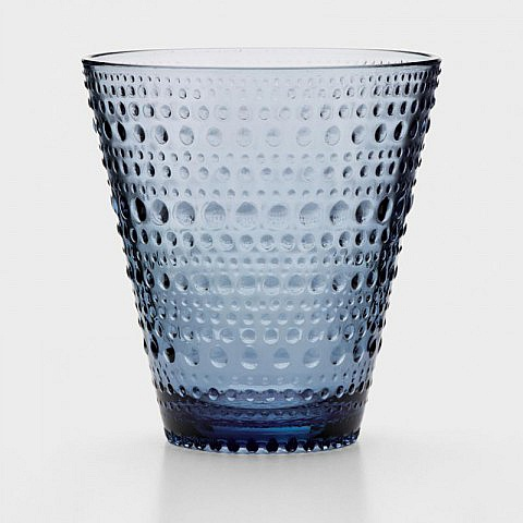 Wasserglas 2er-Set, blau