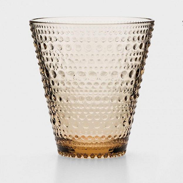 Wasserglas 2er-Set, braun
