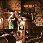 Original-Weinfass halb, 110 Liter