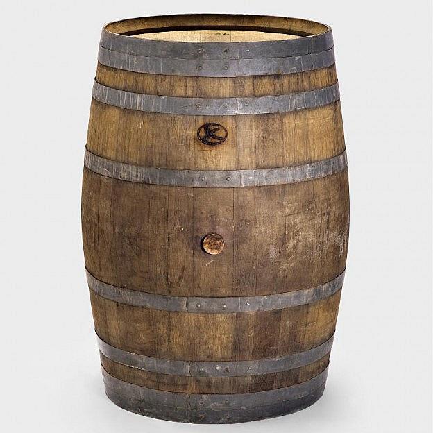 Original-Weinfass ganz, 225 Liter
