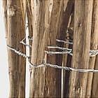 Staketenzaun Haselnussholz 120 cm, 5m lang