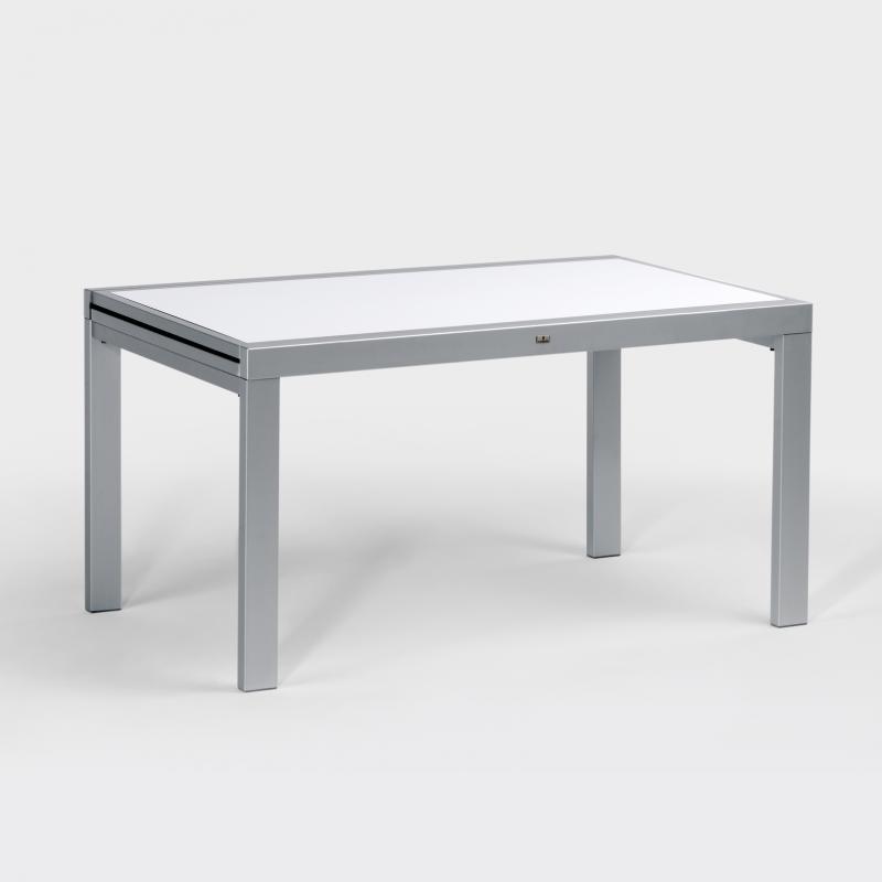 Gartentisch Aluminium Hpl Ausziehbar 140 Cm Bis 280 Cm Biber De