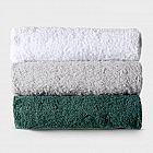 Strandtuchauflage Baumwolle, silber