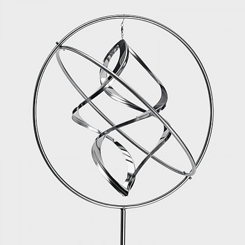 Windspiel Gyroskop Edelstahl