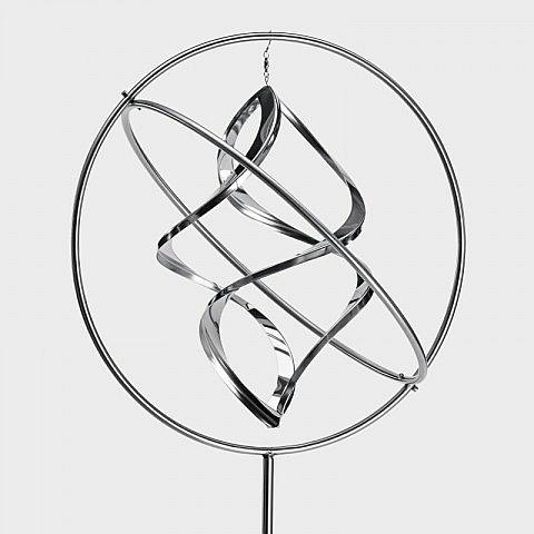 Windspiel Gyroskop 40 cm, Edelstahl