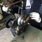 Segel-Windspiel 38 cm, Edelstahl