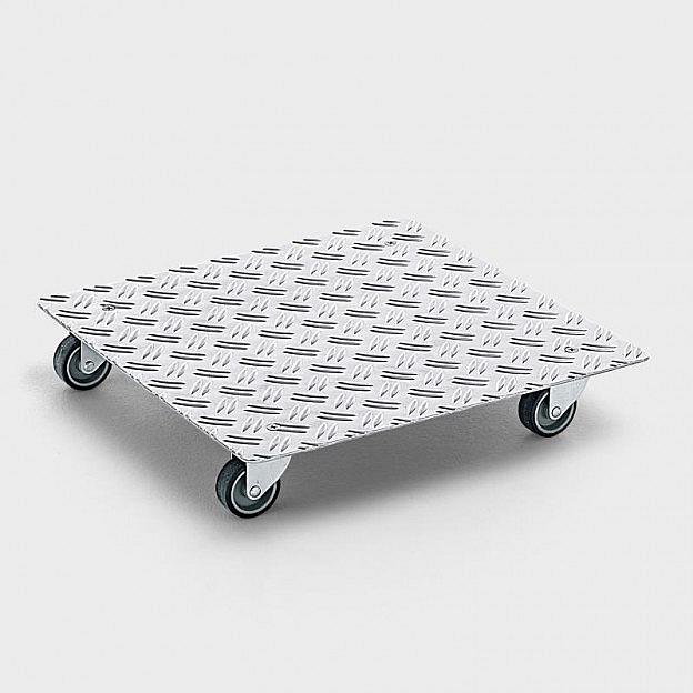 Rolluntersetzer quadratisch, 40 cm