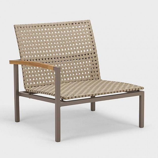 Lounge-Seitenelement Palma, Gurtbespannung, Armlehne rechts