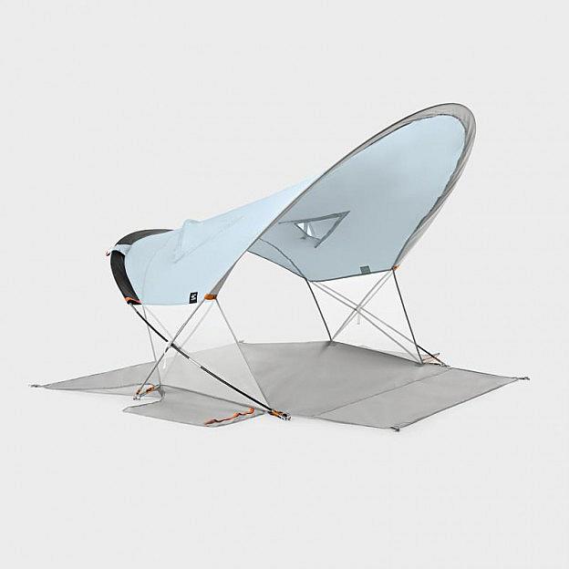 Mobiles Strandzelt 180 x 155 cm