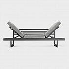 Lounge-Liegemöbel Aluminium, anthrazit
