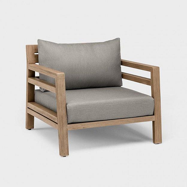Lounge-Gartensessel Teak