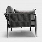 Lounge-Gartensofa Laguna, 3-Sitzer