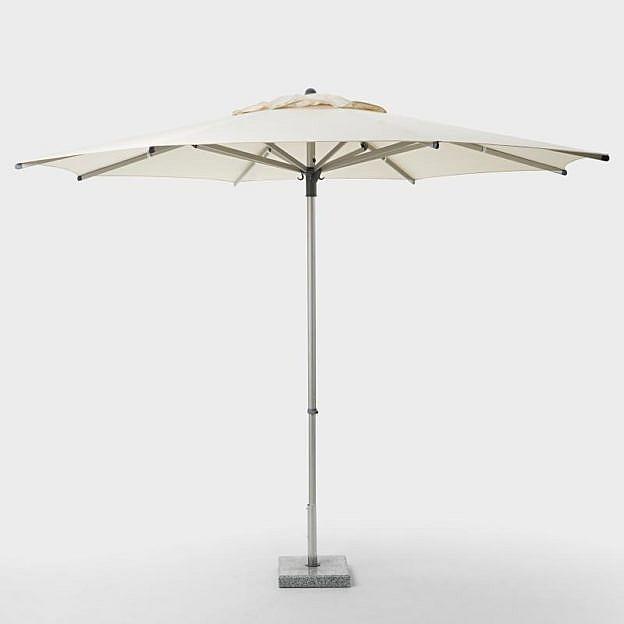 Premium-Sonnenschirm, natur