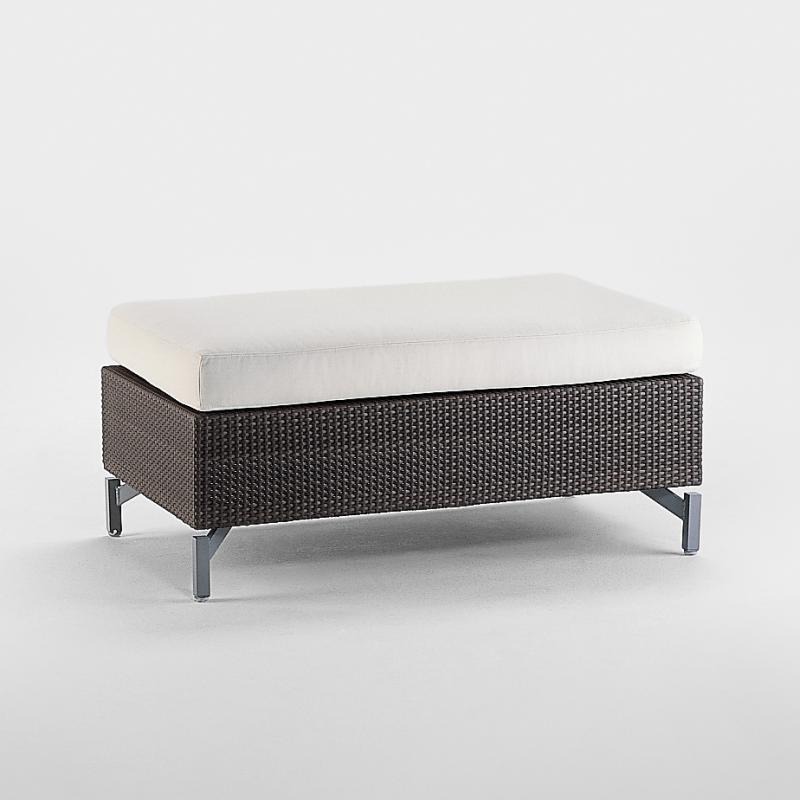 Hocker Cubic Bay Raucordgeflecht