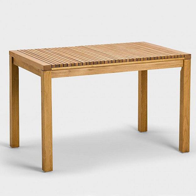 Tisch Robinie 120 x 75 cm